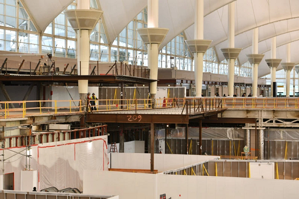 Denver airport selects new partners in reset of stalled Great Hall renovation