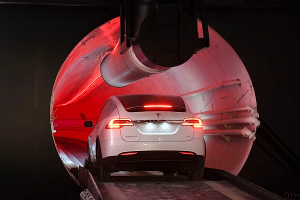 Elon Musk's Ontario airport tunnel project moves to next phase
