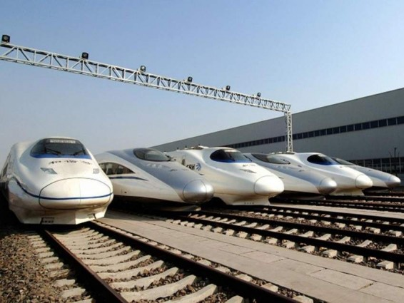 China Builds Its First PPP High-speed Railway